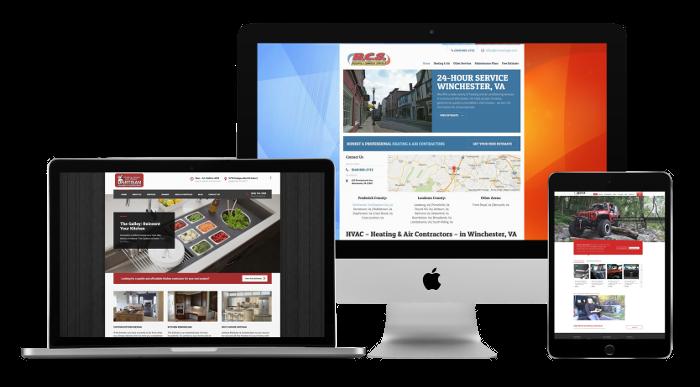 Web design for contractors