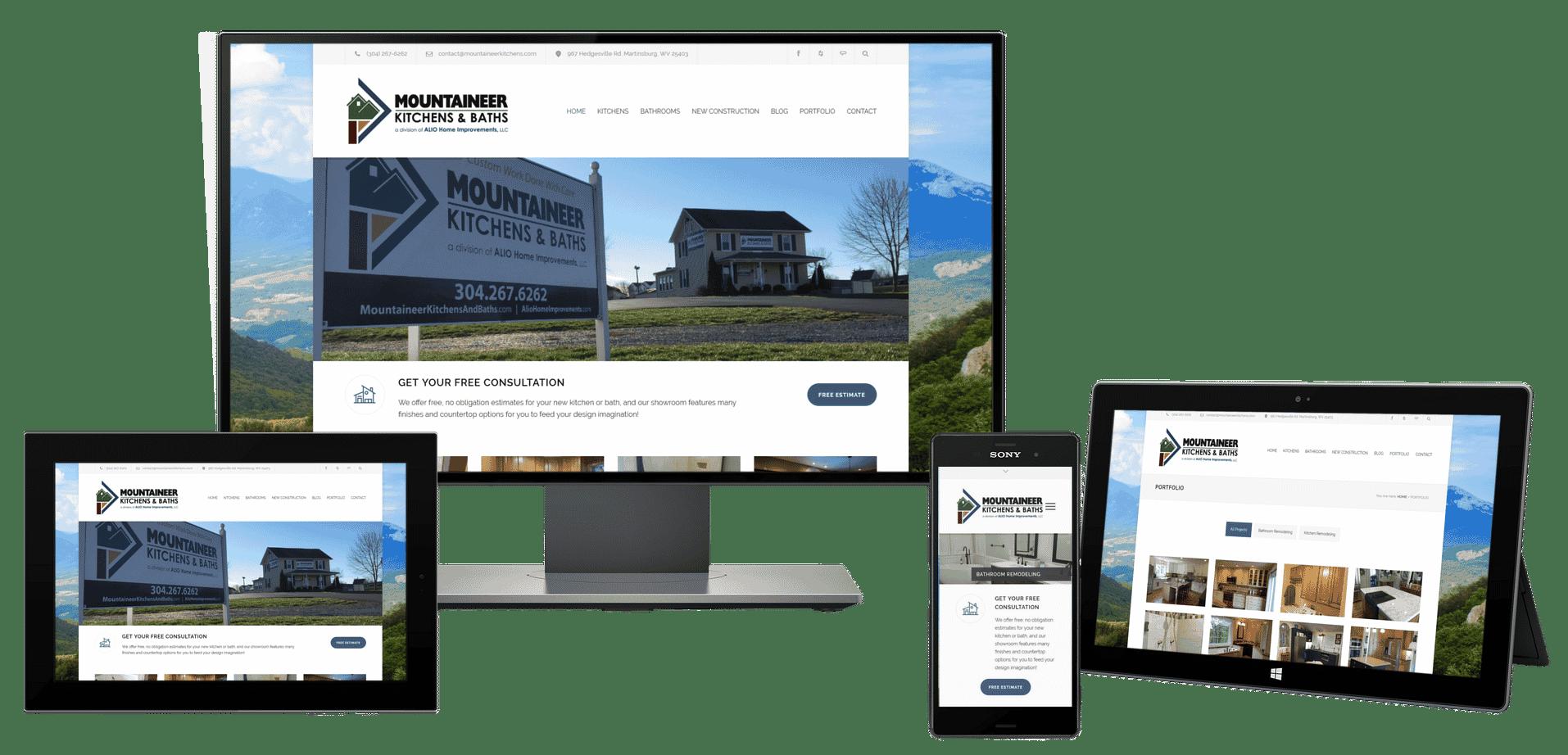 Remdeler web design