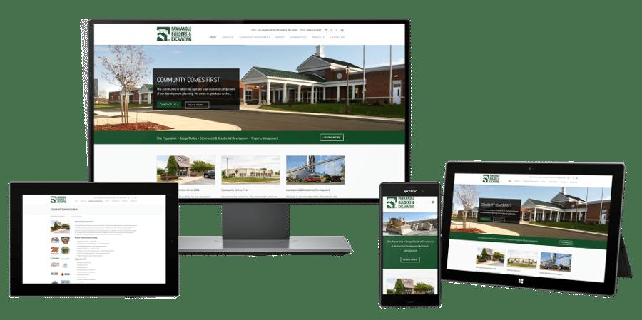 Contractor website design company