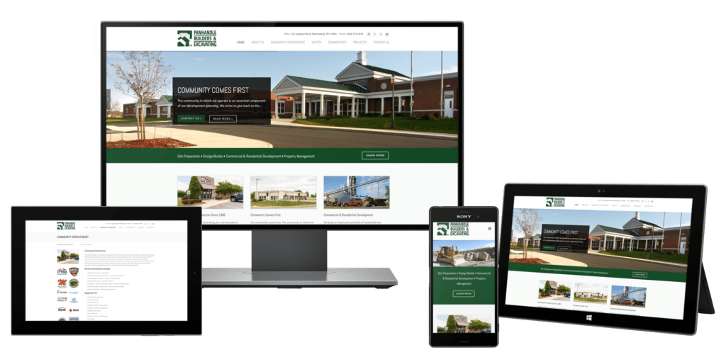Home Builder Website Design · Website Design For Construction Companies