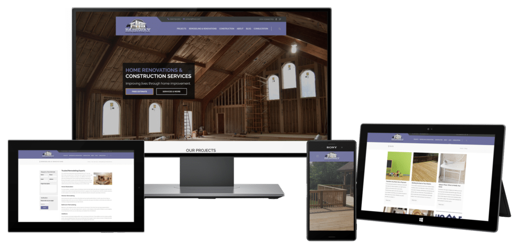 Home builder web design for Home builder website